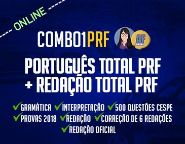 Combo PRF - Português Total + Redação Total