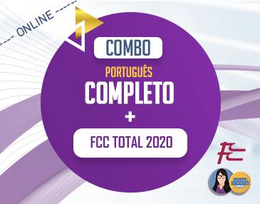 COMBO - Português Completo + FCC Total
