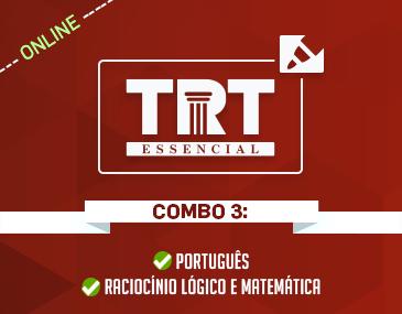 Combo 3 - Português, Matemática e Raciocínio Lógico