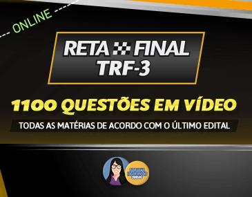 Reta Final TRF 3 - Curso Completo