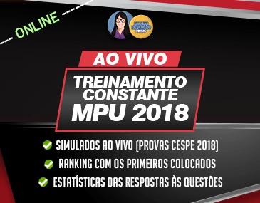 Treinamento Constante MPU Online - Português