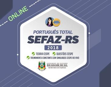 Português Total SEFAZ - RS