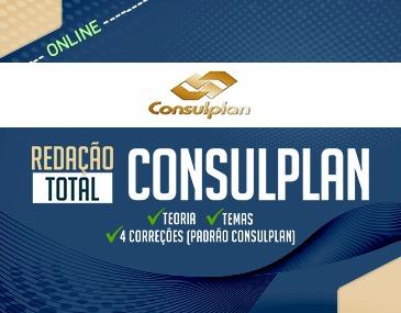 Redação Total Consulplan: Teoria + Guia Prático De Temas