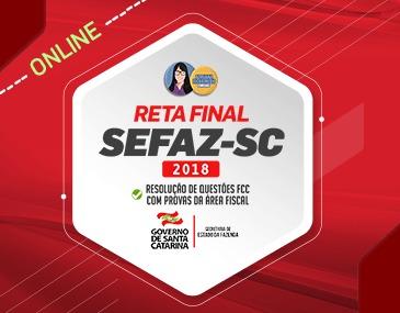 Reta Final Sefaz SC