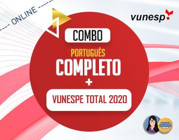 COMBO Português Completo + Vunesp Total
