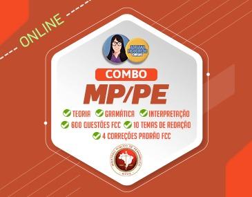 Combo Português Total + Redação Total MPPE