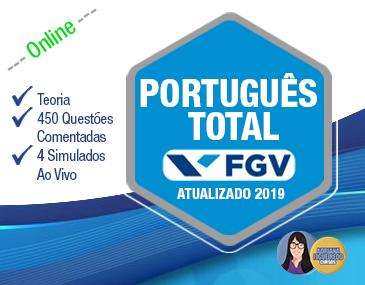 Português Total FGV - Atualizado 2019
