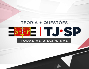 Teoria + Questões - TJ/SP : Curso Completo (com todas as disciplinas)
