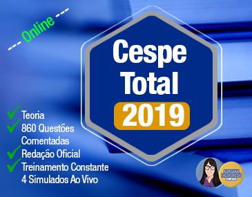 Cespe Total 2019