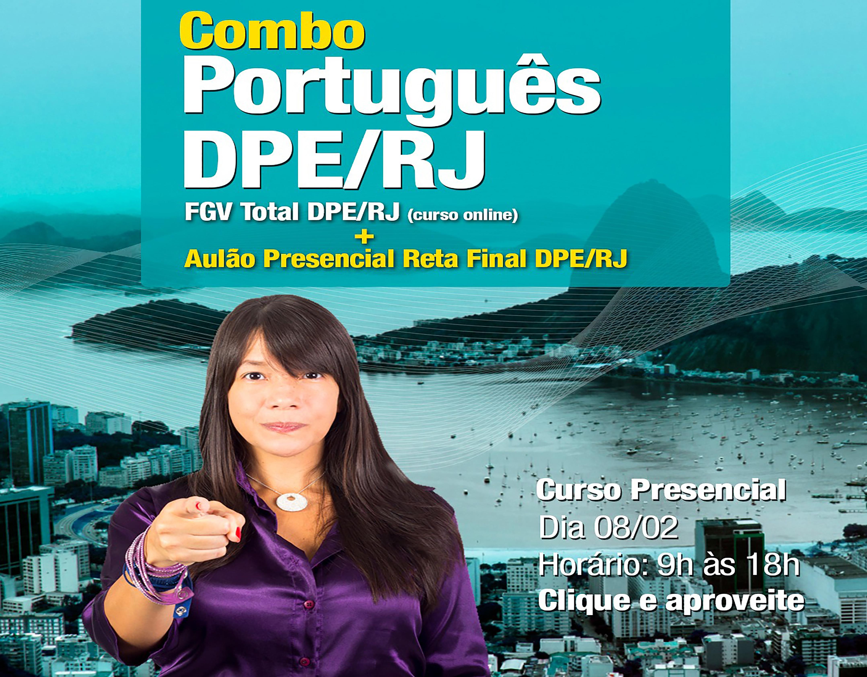 Combo: Português DPE/RJ