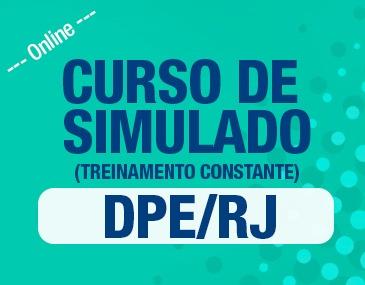 Curso de Simulados DPE/RJ