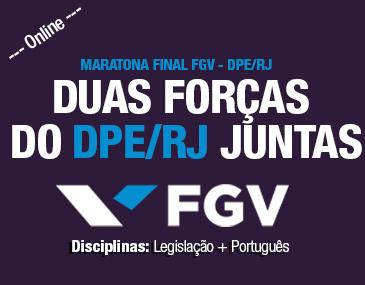 Maratona Final FGV - DPE/RJ
