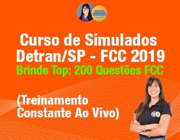 Curso de Simulados Detran-SP - FCC 2019
