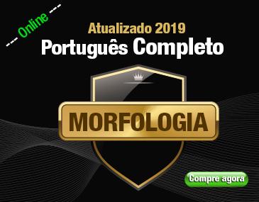 Português Completo - Morfologia