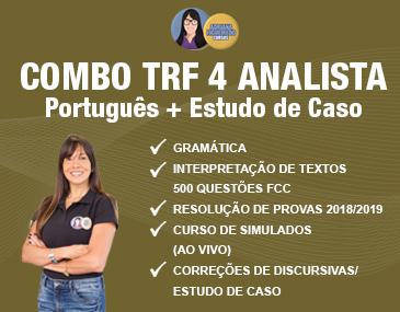 Combo TRF 4: Português + Estudo de Caso