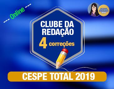 Clube da Redação - Cespe - 4 correções