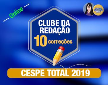 Clube da Redação - Cespe - 10 correções