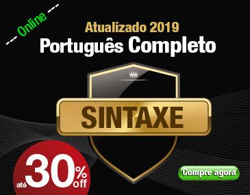 Português Completo - Sintaxe