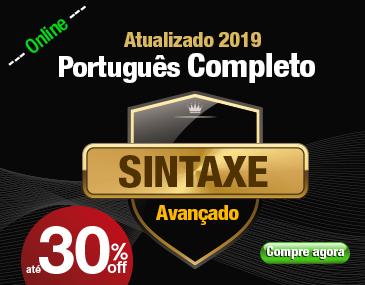 Português Completo - Sintaxe Avançada