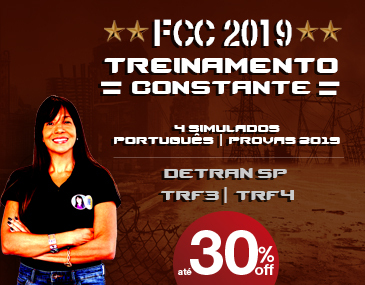 FCC 2019 - Treinamento Constante TRF 4