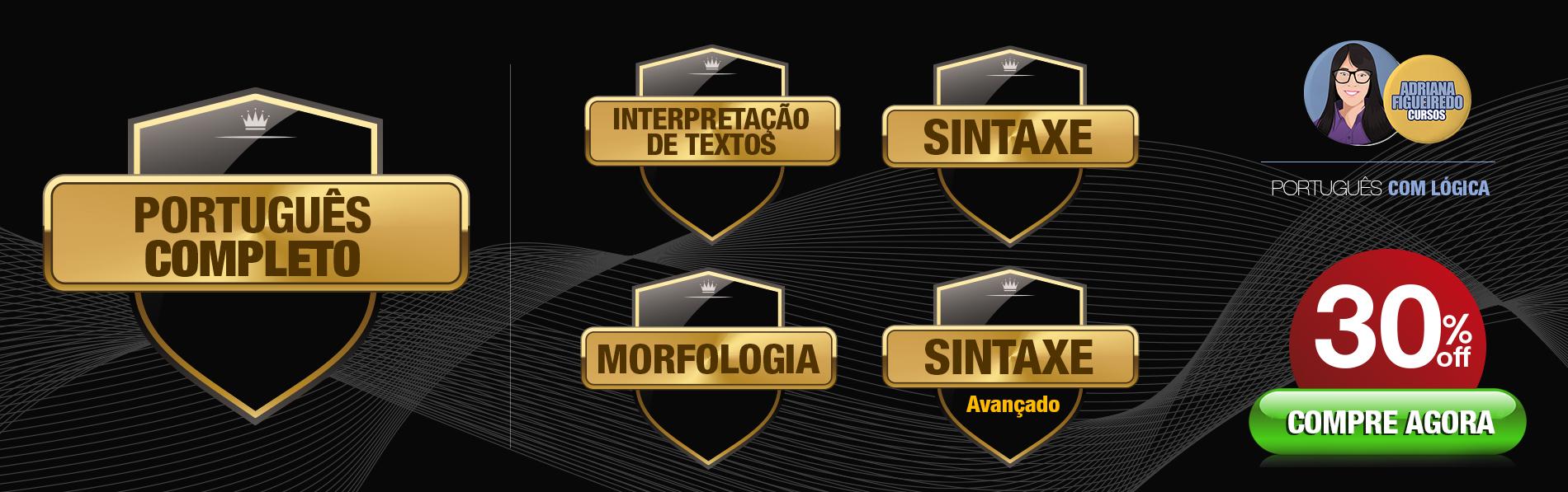 Portugues Completo - 4 módulos - 30% desconto