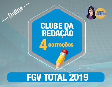 Clube da Redação FGV - 4 Correções