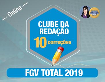 Clube da Redação FGV - 10 Correções