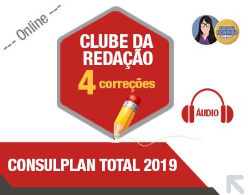 Clube da redação Correção por Áudio - Consulplan