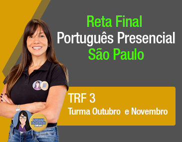 Reta Final Português Presencial São Paulo- TRF 3