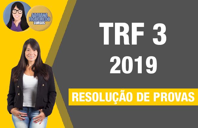 TRF 3 - Provas FCC 2019