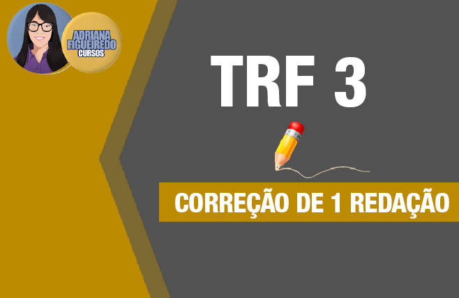 Correção de 1 Redação TRF 3