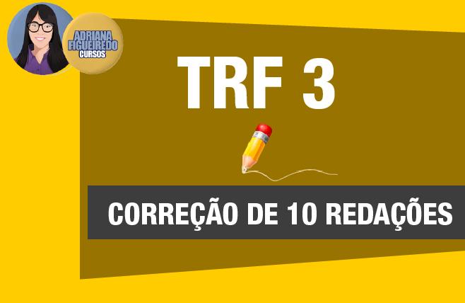 TRF 3 - Correção de 10 redações