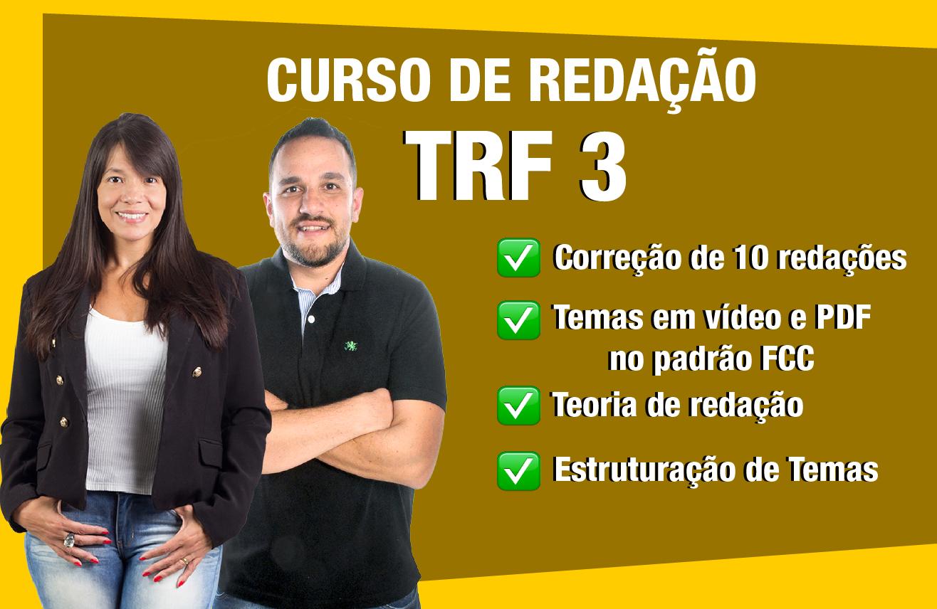 Curso de Redação TRF 3