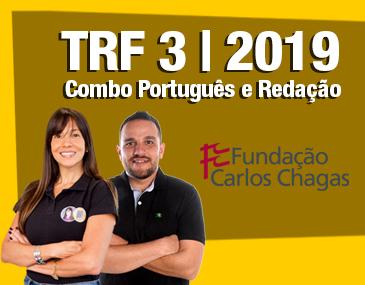 TRF 3 2019 - Combo Português e Redação