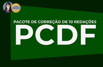Correção de 10 redações - PCDF