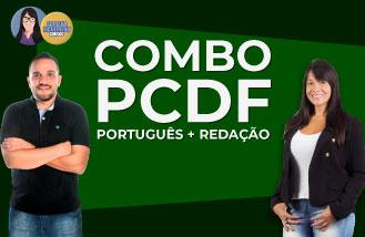 COMBO: Português + Redação Total - PCDF