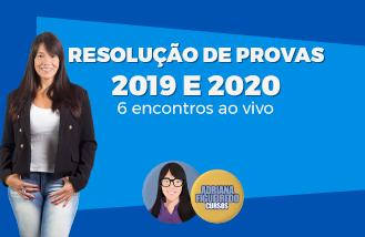 Resolução de Provas 2019/2020 - TJ-RJ