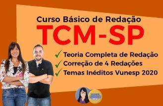 Curso Básico de Redação - TCM-SP