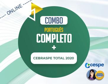 COMBO - Português Completo + Cebraspe Total