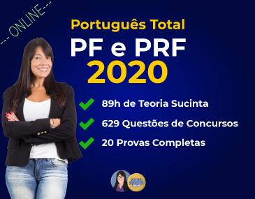 Português Total - PF e PRF