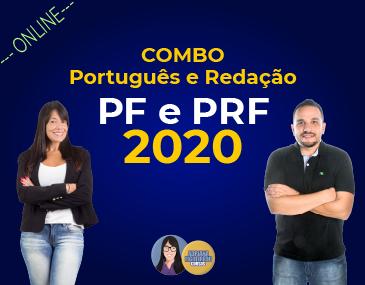 Combo - Português e Redação - PF e PRF