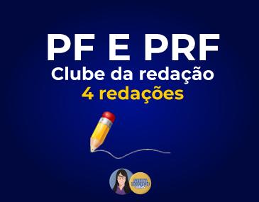 Correção de 4 Redações - PF e PRF