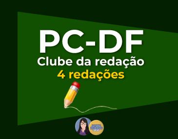 Correção de 4 Redações - PC-DF