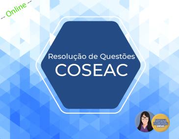 Resolução de Questões - Coseac