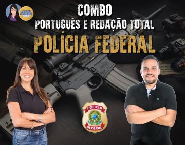 Combo - Português e Redação - PF
