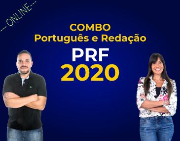Combo - Português e Redação - PRF