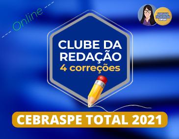 Clube da Redação - Cebraspe - 4 correções
