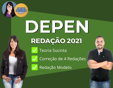 Redação Depen 2021