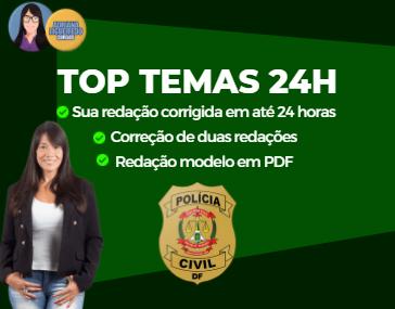 Top Temas 24h - PC-DF