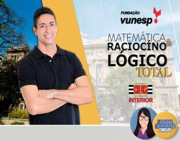 Matemática e RLM Total -  TJ/SP - Prof. Brunno Lima